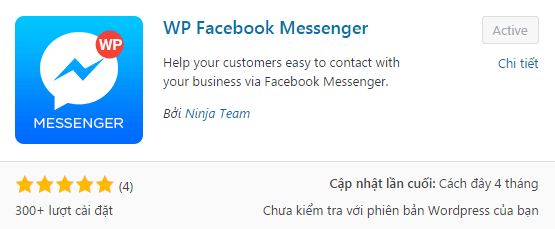 tich hop tinh nang facebook chat vao website wordpress.