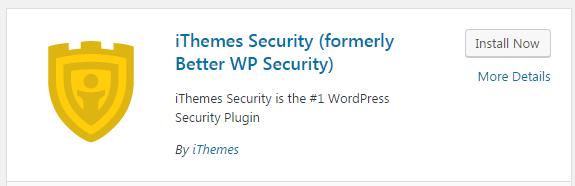plugin ithemes security
