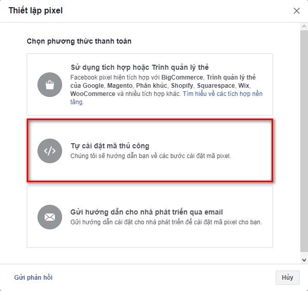 cai ma pixel facebook cho website 3
