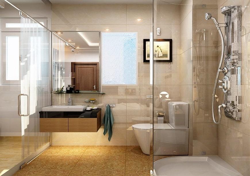 Phòng vệ sinh không nên cải tạo thành phòng ngủ